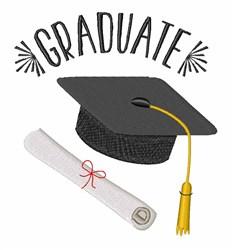 Graduate embroidery design