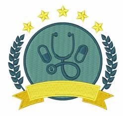 Medicine Logo embroidery design