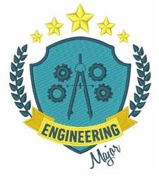 Engineering Major embroidery design
