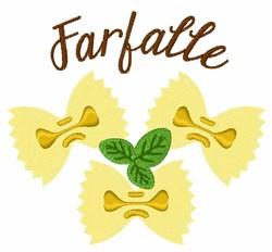 Farfalle embroidery design