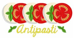 Antipasti embroidery design
