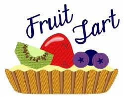 Fruit Tart embroidery design