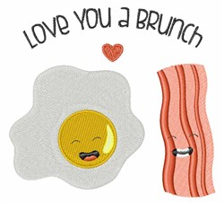 A Brunch embroidery design