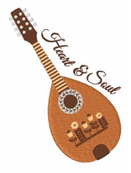 Heart & Soul embroidery design