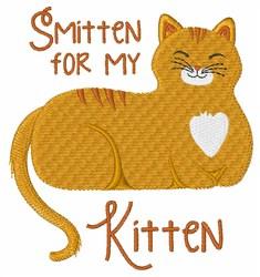 Smitten Kitten embroidery design