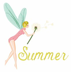 Summer Fairies embroidery design