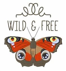 Wild & Free embroidery design
