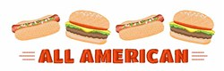 All American embroidery design