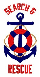 Search & Rescue embroidery design