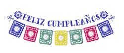 Feliz Cumpleanos Banner embroidery design