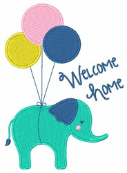 Welcome Home embroidery design