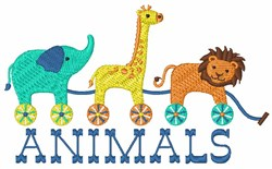 Animals embroidery design