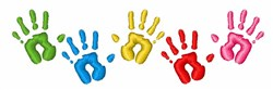 Hand Prints embroidery design