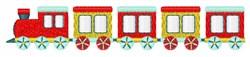 Choo-Choo Train embroidery design