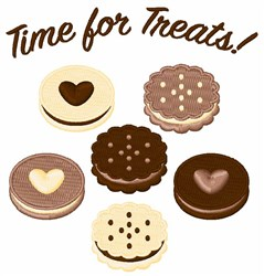 Time For Treats embroidery design