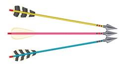 Archery Arrows embroidery design