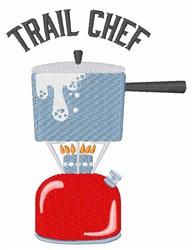 Trail Chef embroidery design