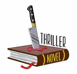 Thriller Novel embroidery design