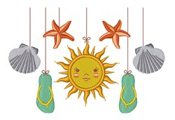 Summer Mobile embroidery design