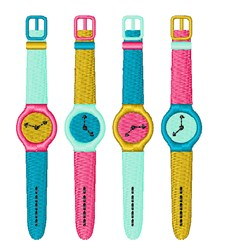Wrist Watches embroidery design