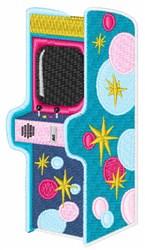 Arcade Game embroidery design