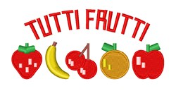 Tutti Frutti embroidery design