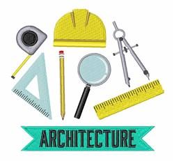 Architecture embroidery design