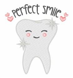 Perfect Smile embroidery design