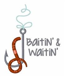 Baitin & Waitin embroidery design