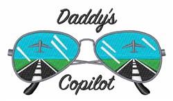 Daddys Copilot embroidery design