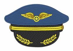 Pilot Hat embroidery design