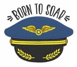 Born To Soar embroidery design