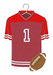 Football Jersey 1 embroidery design
