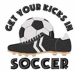 Soccer Kicks embroidery design