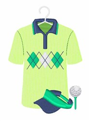 Golf Gear embroidery design