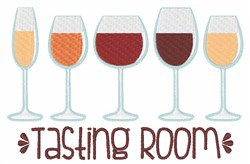 Tasting Room embroidery design