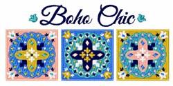 Boho Chic embroidery design