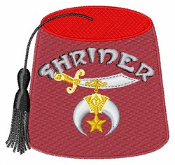 Shriner embroidery design