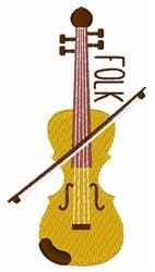 Folk Fiddle embroidery design