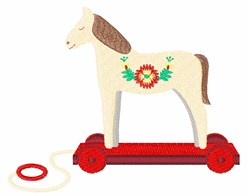 Wooden Horse embroidery design