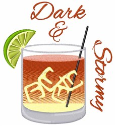 Dark And Stormy embroidery design