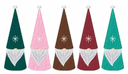 Holiday Elves embroidery design