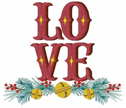 Love Bells embroidery design