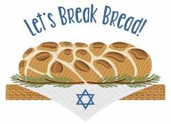Break Bread embroidery design