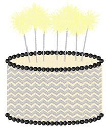 Birthday Sparklers embroidery design