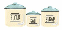 Canister Jars embroidery design