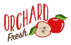 Orchard Fresh embroidery design