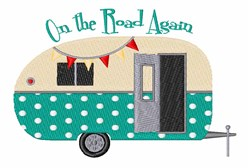 On The Road embroidery design