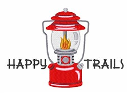 Happy Trails embroidery design
