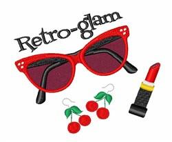 Retro Glam embroidery design